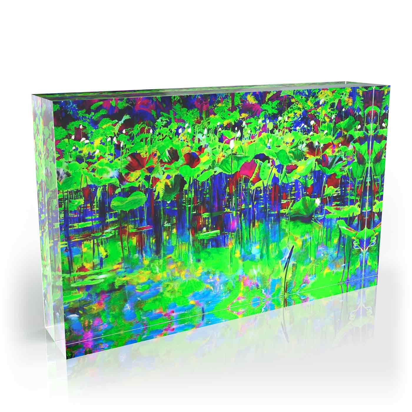 2011   Acrylic mixtechnique on aluminium   40x28cm   Editionof3