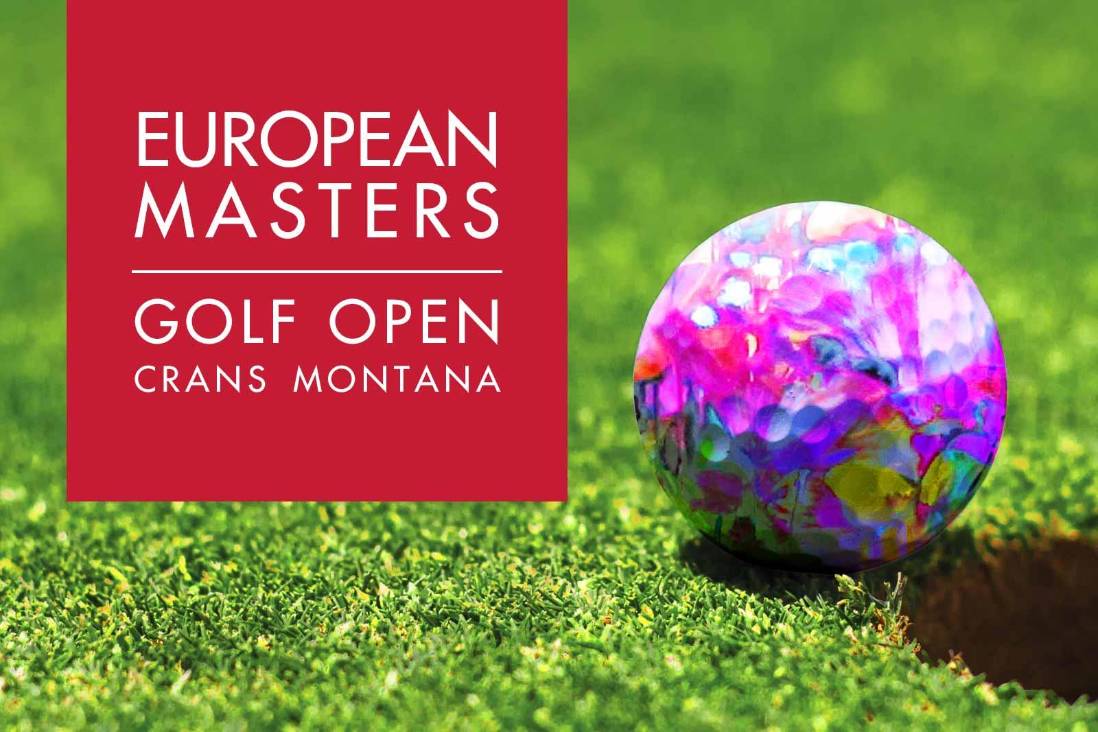 Cornelia Hagmann Art at Omega European Masters Crans Montana