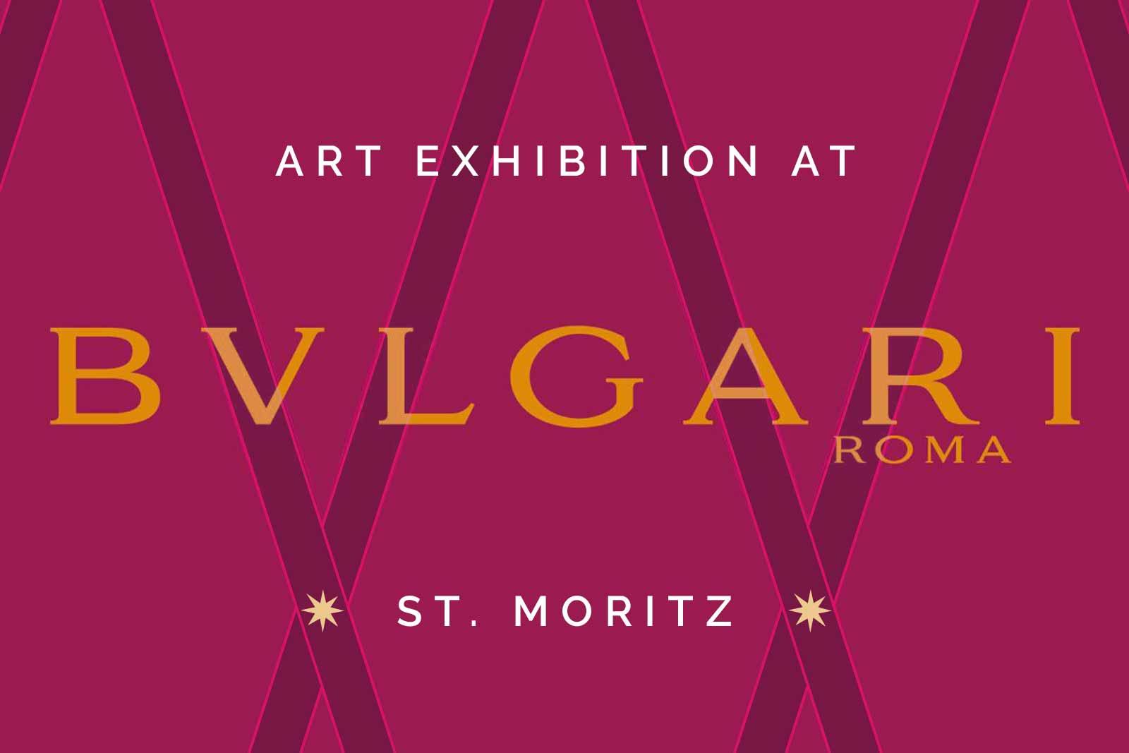 Cornelia Hagmann Contemporary Artist Exhibition Bulgari St. Moritz Profondita della natura