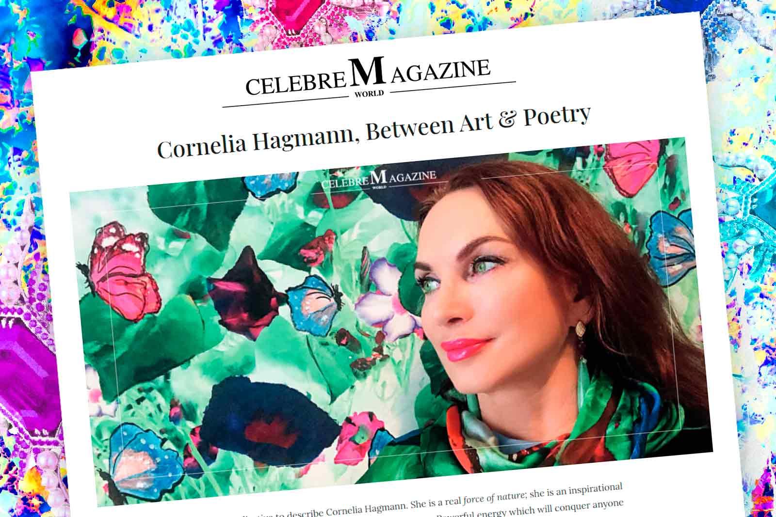 Cornelia Hagmann Contemporary Artist Paintings Flowers Colors La Galleria Pareo Foulard Silk Scarves Scarf Seiden Schals Art Design Artist Exhibition